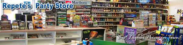 Pete's and Repete's Party Store of Holland Michigan